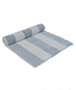 . Полотенце для ног (коврик) NEWPORT 50х80 слоновая кость/голубой от Casual Avenue