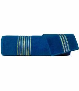 Полотенца хлопковые Deluxe. Набор из 2-х полотенец Master (40х60; 60х110) Темно-синий от Missoni