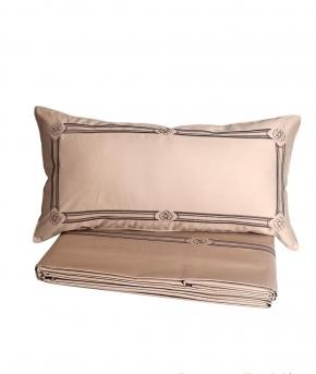 Постельное бельё Deluxe. Постельное белье Габриэлла двуспальное Песочный от Catherine Denoual Maison