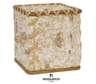 Аксессуары для детских ванных комнат. Бокс для салфеток салфетница Birch Bark by Woolrich