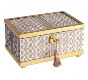 Боксы для часов и украшений Шкатулки Deluxe. Шкатулка Fortuny Tapa Decorative - Small