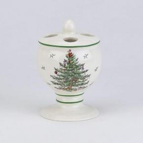 Новый Год. Стакан для зубных щеток Spode Christmas Tree 11523B