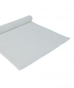 . Полотенце для ног (коврик) Chester (Честер) 70×140 белый от Casual Avenue