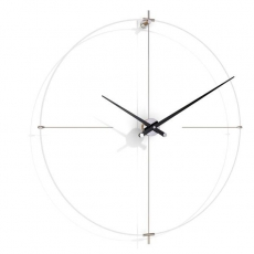 Часы. Nomon BILBAO L white-black часы Ø110 см
