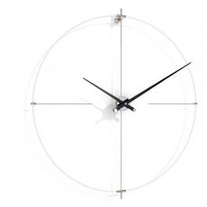 . Nomon BILBAO L white-black часы Ø110 см