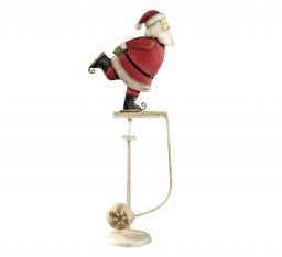Новый Год. Маятник Санта на коньках