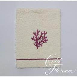 Полотенца хлопковые. Полотенце малое с вышивкой (лиловый) КОРАЛО 40х60