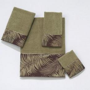 Полотенца хлопковые. Полотенце банное Tropical Leaves WIL