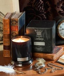 Ароматические свечи Парфюм для дома Диффузоры. Свеча большая Найтсбридж (10х12см.) от Ashleigh&Burwood