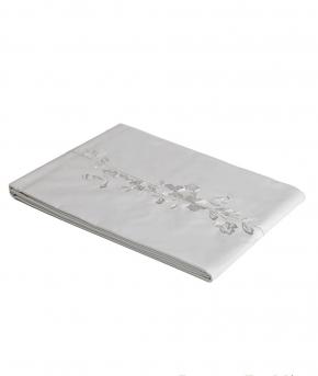 Постельное бельё Deluxe. Постельное белье полутороспальное Дикая Роза (140х200) Белый от Catherine Denoual Maison