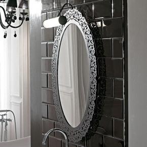 Зеркала для ванной. Globo Paestum Зеркало 95x71 см