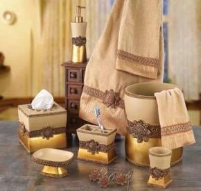 . Braided Medallion керамические настольные аксессуары для ванной