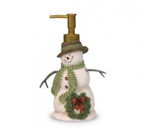 . Дозатор для жидкого мыла Linda Spivey Snowman
