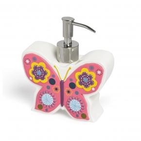 Аксессуары для детских ванных комнат. Дозатор для жидкого мыла Butterflies ABF-LD