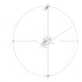 . Nomon BILBAO L white-white часы Ø110 см