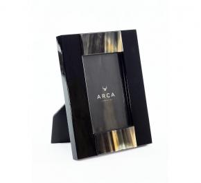 Рамки для фотографий Deluxe. Рамка для фото 13 х 18 с отделкой из рога (черная)