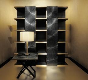 Книжные шкафы стеллажи. Стеллаж Freud Armani/Casa
