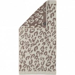 """.         Полотенце CAWO """"Leopard"""" 563 Натуральный"""