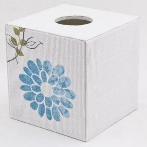 . Бокс для салфеток салфетница Stripe & Floral XSTFL005W