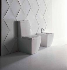 Унитазы Биде. Унитаз моноблок Althea Ceramica Design Oceano с бачком в комплекте