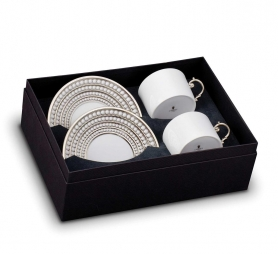 . Чайный набор Perlee Platinum
