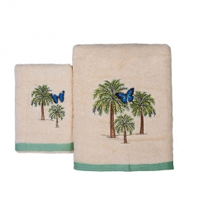 Полотенца хлопковые. Полотенце для рук Butterfly Palm