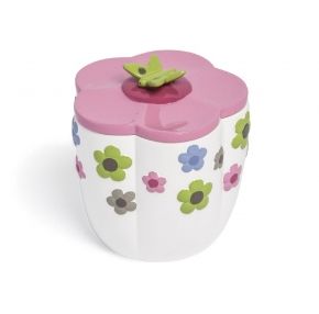 Аксессуары для детских ванных комнат. Косметическая емкость с крышкой Merry Meadow AMM-CJ