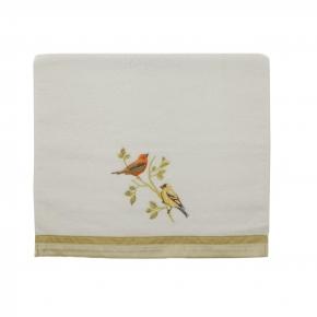 Полотенца хлопковые. Полотенце для рук Gilded Birds 019842WHT
