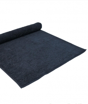 . Полотенце для ног (коврик) CHESTER  (MUSON) 70х140 синий от Casual Avenue