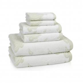 Полотенца хлопковые. Полотенце для ног (банный коврик) 51х86 Roma Sage ROM-175-SAG