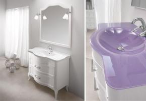 Мебель для ванной комнаты. Eban Rachele 105 мебель для ванной PEARLY WHITE