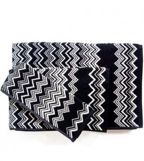 Полотенца хлопковые Deluxe. Набор из 5-ти полотенец Keith (40х60; 60х110; 90×160) Черный от Missoni