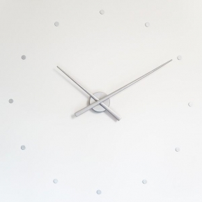Часы. Nomon OJ silver часы Ø80 см