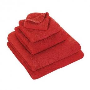 Полотенца хлопковые.         Полотенце Супер Пил красное