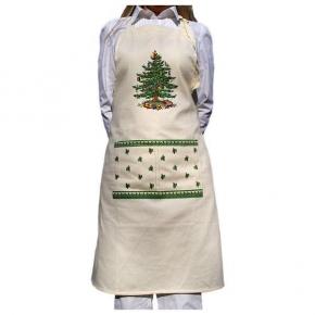 Новый Год. Фартук Spode Christmas Tree 21523APRN