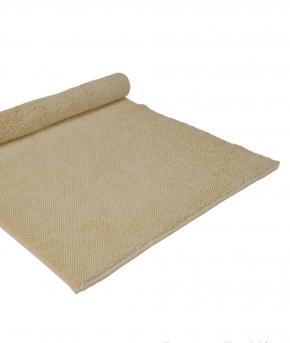 . Полотенце для ног (коврик) CHESTER (MUSON) 70х140 желтый от Casual Avenue