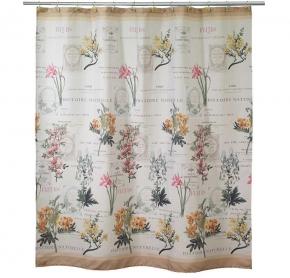 Шторки для душа и ванны текстильные. Шторка для ванной Alana 13669H