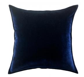 Декоративные подушки Deluxe. Подушка Silk Velvet - Navy