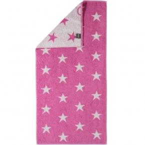 """.         Полотенце CAWO """"Small Stars"""" 525 Розовый"""