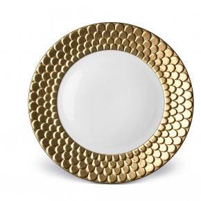 Посуда Столовые приборы Декор стола Deluxe. Тарелка Aegean Gold столовая