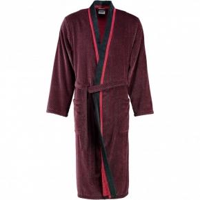 Халаты Одежда для бани и сауны.         Халат мужской 4839. Бордо