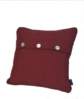 Декоративные подушки. Декоративная подушка Fresno (Hasir) (40х40) красный от Casual Avenue