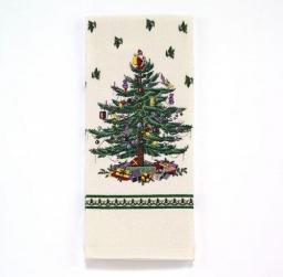 Полотенца хлопковые. Полотенце кухонное с принтом Spode Christmas Tree 21523PKT
