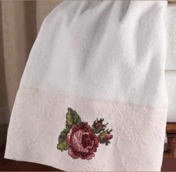 Полотенца хлопковые. Полотенце для рук Jasmine 036442WHT