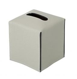 . Салфетница кожаная Suite tissue box covers by GioBagnara квадратная