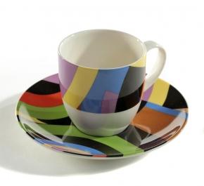 Посуда Столовые приборы Декор стола Deluxe. Пара кофейная Art Deco