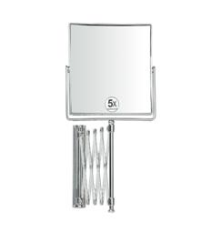 . Зеркало настенное, раздвижное с 5-ти кратным увеличением BA8018 шарнир гармошка