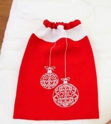. Сумка для подарков Рождественские шары Catherine Denoual Maison