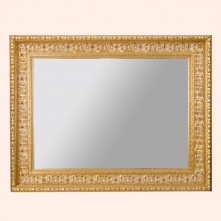 Зеркала для ванной. EBAN Зеркало CLASSIC STYLE 90х70см античное золото