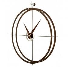 Часы. Nomon Doble O N дерево calabo Ø70 см
